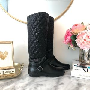 Sherry Top-Sider Hingham Glitter Rainboot